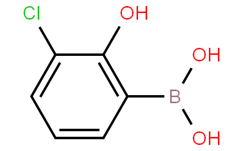 3-chloro-2-hydroxyphenylboronic acid