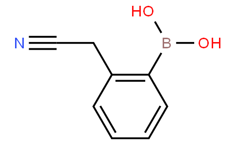 2-(cyanomethyl)phenylboronic acid
