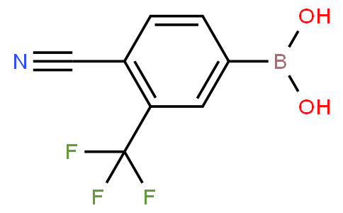 4-cyano-3-(trifluoromethyl)phenylboronic acid