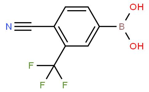 4-氰基-3-(三氟甲基)苯硼酸