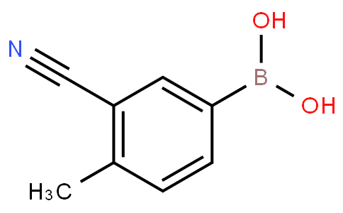 3-cyano-4-methylphenylboronic acid