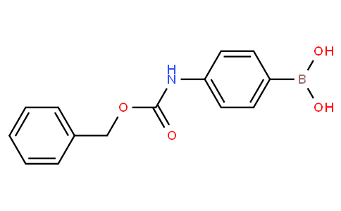4-(benzyloxycarbonylamino)phenylboronic acid
