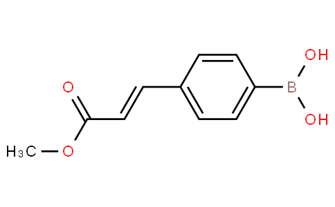 4-(3-methoxy-3-oxoprop-1-enyl)phenylboronic acid