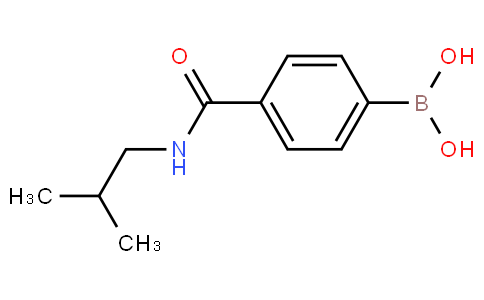 4-(isobutylcarbamoyl)phenylboronic acid