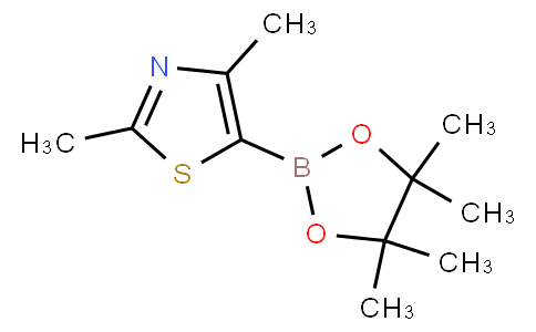 2,4-dimethyl-5-(4,4,5,5-tetramethyl-1,3,2-dioxaborolan-2-yl)thiazole