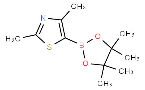 2,4-二甲基-5-(4,4,5,5-四甲基-1,3,2-二氧硼烷-2-YL)-1,3-噻唑