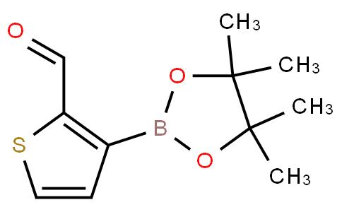 3-(4,4,5,5-tetramethyl-1,3,2-dioxaborolan-2-yl)thiophene-2-carbaldehyde