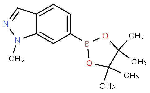 1-methyl-6-(4,4,5,5-tetramethyl-1,3,2-dioxaborolan-2-yl)-1H-indazole