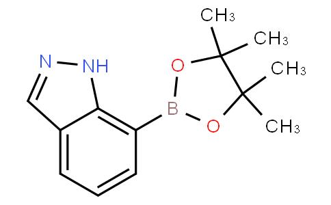 7-(4,4,5,5-tetramethyl-1,3,2-dioxaborolan-2-yl)-1H-indazole