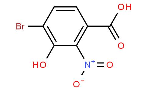 4-溴-3-羟基-2-硝基-苯甲酸