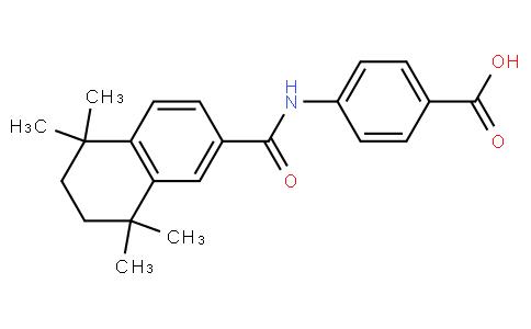 4-(5,5,8,8-tetramethyl-5,6,7,8-tetrahydronaphthalene-2-carboxamido)benzoic acid