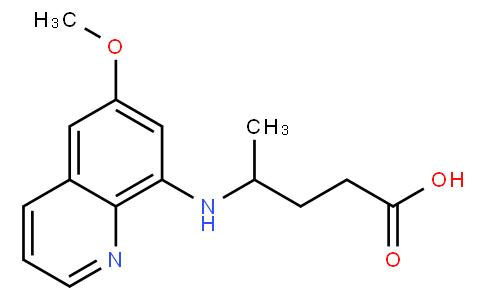 8-( 3 - 羧基- 1 - 甲基丙氨)- 6 - 甲氧基喹唑啉