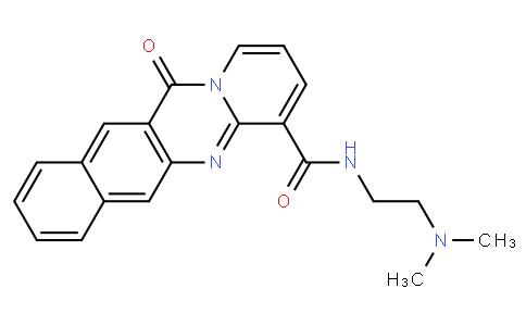 N-[2-(二甲基氨基)乙基]-12-氧代-12H-苯并[g]吡啶并[2,1-b]喹唑啉-4-甲酰胺