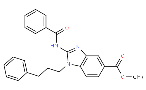 methyl 2-benzamido-1-(3-phenylpropyl)-1H-benzo[d]imidazole-5-carboxylate