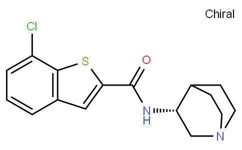(R)-7-chloro-N-(quinuclidin-3-yl)benzo[b]thiophene-2-carboxamide
