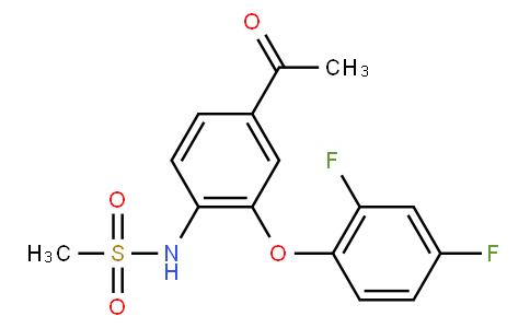 N-(4-acetyl-2-(2,4-difluorophenoxy)phenyl)methanesulfonamide