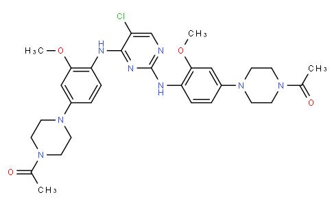 1,1'-(4,4'-(((5-chloropyrimidine-2,4-diyl)bis(azanediyl))bis(3-methoxy-4,1-phenylene))bis(piperazine-4,1-diyl))diethanone