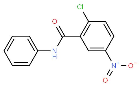 2-chloro-5-nitro-N-phenylbenzamide