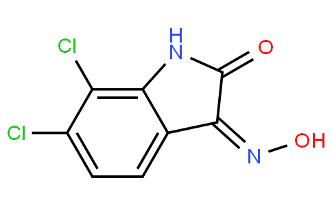 (Z)-6,7-dichloro-3-(hydroxyimino)indolin-2-one