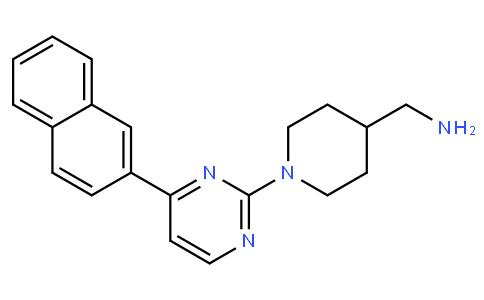 1-[4-(2-萘基)-2-嘧啶基]-4-哌啶甲胺
