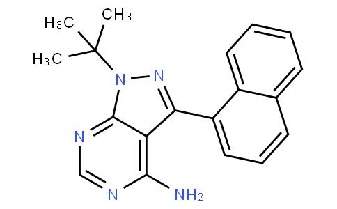 1-(tert-butyl)-3-(naphthalen-1-yl)-1H-pyrazolo[3,4-d]pyrimidin-4-amine