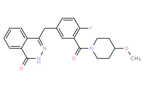 4-(4-fluoro-3-(4-methoxypiperidine-1-carbonyl)benzyl)phthalazin-1(2H)-one