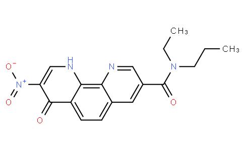 N-乙基-7,10-二氢-8-硝基-7-氧代-N-乙基-1,10-菲罗啉-3-甲酰胺