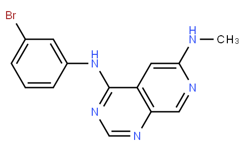 N4-(3-溴苯基)-N6-甲基-吡啶并[3,4-D]嘧啶-4,6-二胺