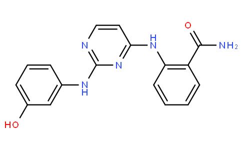 2-[[2-[(3-羟基苯基)氨基]-4-嘧啶基]氨基]苯甲酰胺