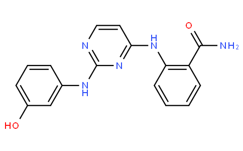 2-((2-((3-hydroxyphenyl)amino)pyrimidin-4-yl)amino)benzamide