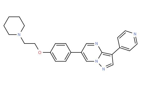6-(4-(2-(piperidin-1-yl)ethoxy)phenyl)-3-(pyridin-4-yl)pyrazolo[1,5-a]pyrimidine