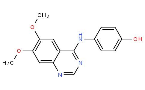 4-((6,7-dimethoxyquinazolin-4-yl)amino)phenol