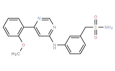 (3-((6-(2-methoxyphenyl)pyrimidin-4-yl)amino)phenyl)methanesulfonamide