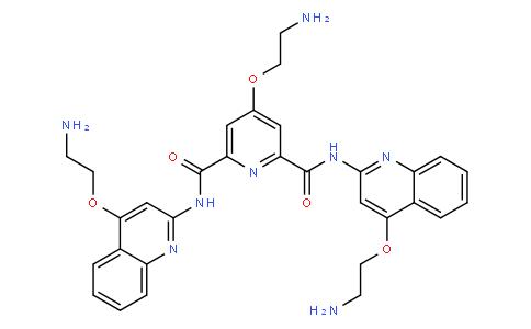 4-(2-aminoethoxy)-N2,N6-bis(4-(2-aminoethoxy)quinolin-2-yl)pyridine-2,6-dicarboxamide