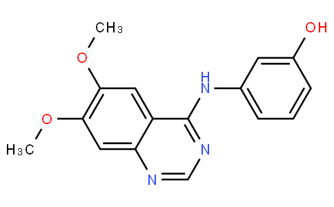 3-((6,7-dimethoxyquinazolin-4-yl)amino)phenol