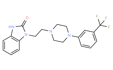 1-(2-(4-(3-(trifluoromethyl)phenyl)piperazin-1-yl)ethyl)-1H-benzo[d]imidazol-2(3H)-one
