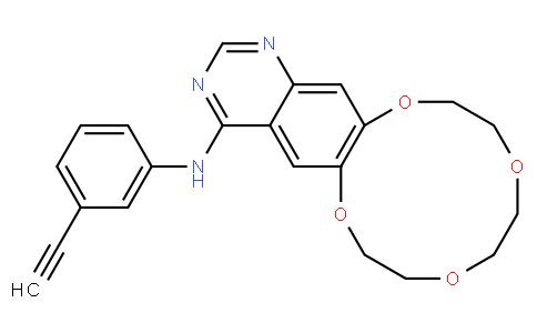 N-(3-ethynylphenyl)-7,8,10,11,13,14-hexahydro-[1,4,7,10]tetraoxacyclododecino[2,3-g]quinazolin-4-amine