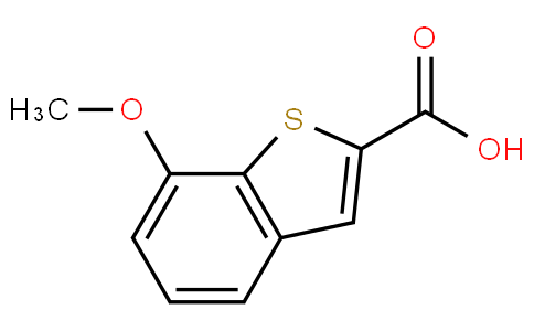 7-methoxybenzo[b]thiophene-2-carboxylic acid