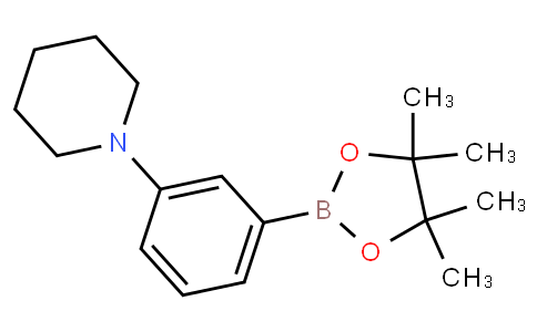 1-(3-(4,4,5,5-tetramethyl-1,3,2-dioxaborolan-2-yl)phenyl)piperidine