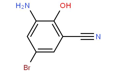 3-Amino-5-bromo-2-hydroxybenzonitrile