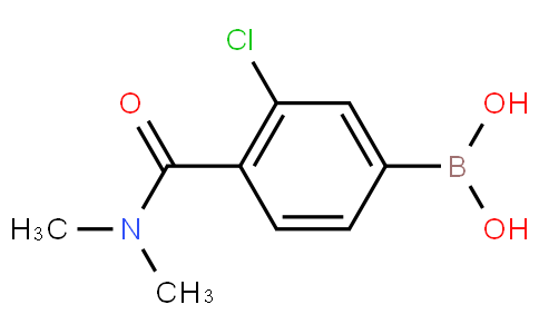 3-Chloro-4-(dimethylcarbamoyl)phenylboronic acid