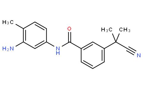 N-(3-amino-4-methylphenyl)-3-(2-cyanopropan-2-yl)benzamide