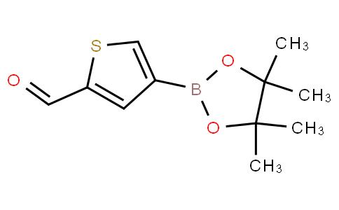 4-(4,4,5,5-Tetramethyl-1,3,2-dioxaborolan-2-yl)thiophene-2-carbaldehyde