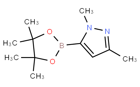 1,3-Dimethyl-5-(4,4,5,5-tetramethyl-1,3,2-dioxaborolan-2-yl)-1H-pyrazole