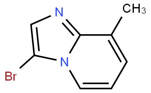 3-Bromo-8-methylimidazo[1,2-a]pyridine