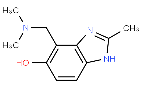 4-((dimethylamino)methyl)-2-methyl-1H-benzo[d]imidazol-5-ol