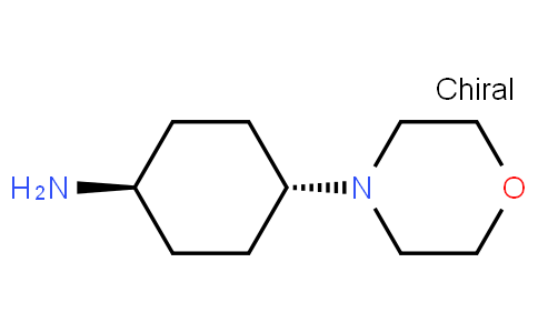 (1r,4r)-4-morpholinocyclohexanamine