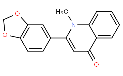 2-(benzo[d][1,3]dioxol-5-yl)-1-methylquinolin-4(1H)-one