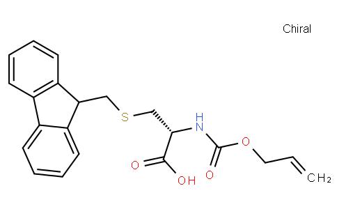 S-((9H-芴-9-基)甲基)-N- ((烯丙氧基)羰基)-L-半胱氨酸