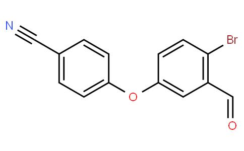 4-(4-Bromo-3-formylphenoxy)benzonitrile